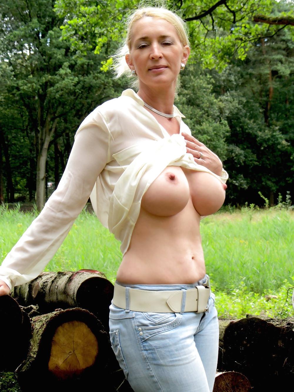 nackte große reife Frauen