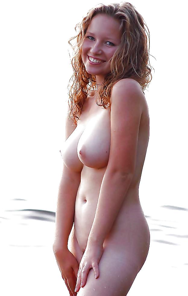 Jugendliche Hündinen nackten in dem Strand - Bild 7
