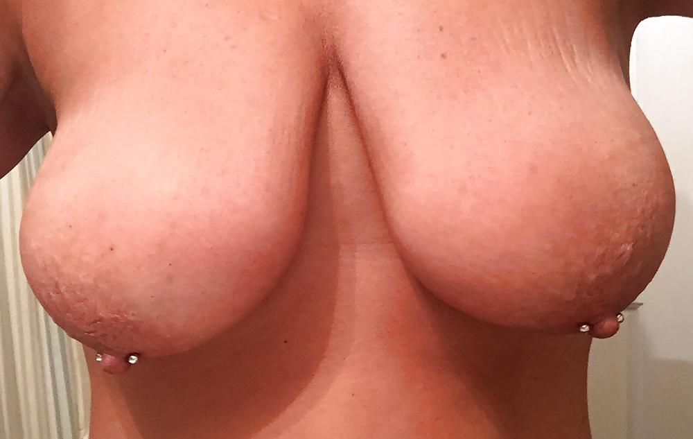 Amateure Frauen machten Nacktselfie - Bild 4
